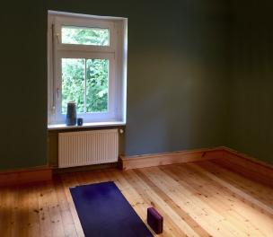 Yoga Raum im Refugium