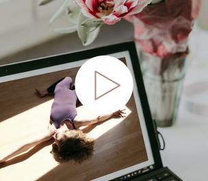 Somatic Yoga Online – In Verbindung bleiben